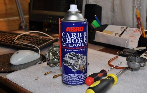 Очиститель карбюратора ABRO