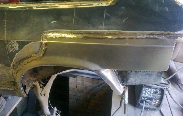 Ваз 21083 ремонт кузова