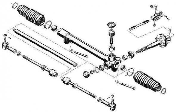 ремонт рулевой рейки ваз 2109 своими руками